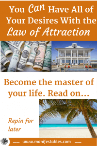 Master Your Life Through Law of Attraction