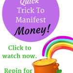 (VIDEO) A Quick Trick To Manifest Money